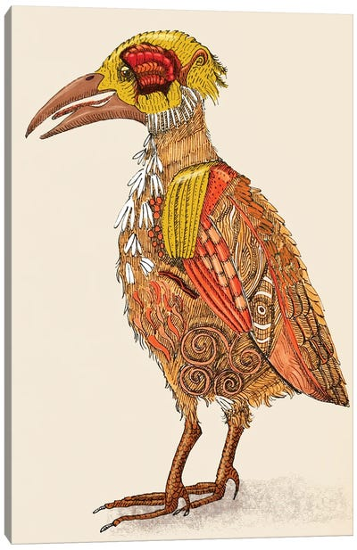 Bird Brain Canvas Art Print