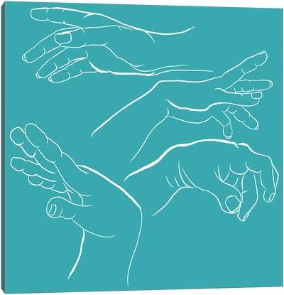 Sign Language Canvas Art Print