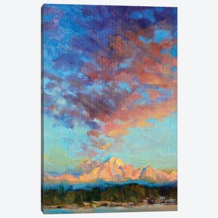 Hastening Light Canvas Print #RMU184} by Roberta Murray Canvas Art Print