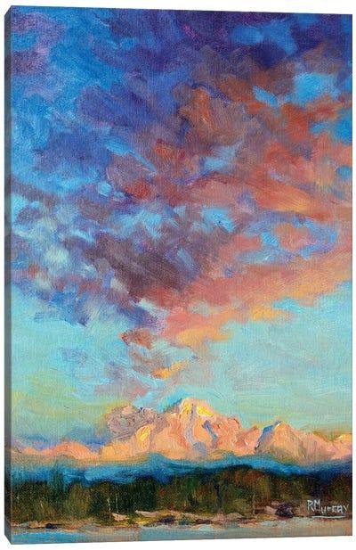 Hastening Light Canvas Art Print