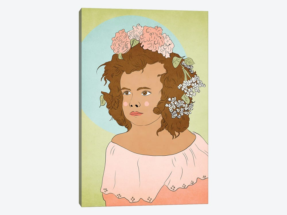 Flower Child Dream by Roberta Murray 1-piece Canvas Wall Art