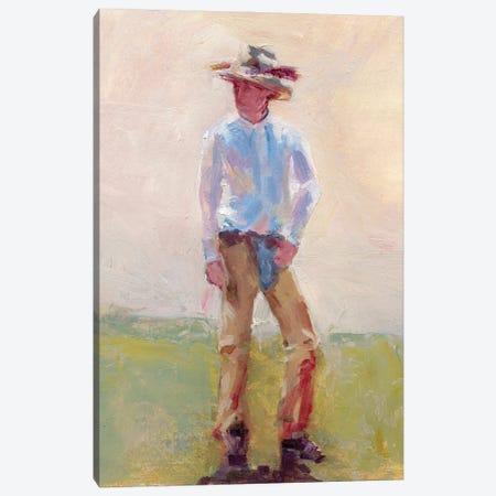 Chaps And Spurs Canvas Print #RMU193} by Roberta Murray Art Print