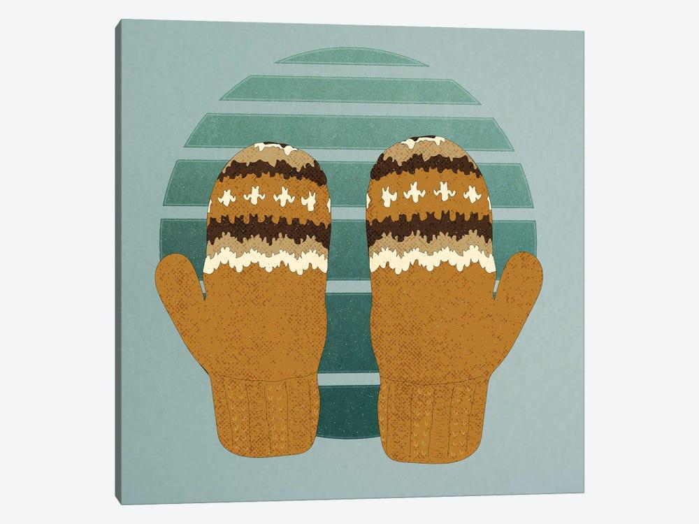 Bernie's Woollen Mittens by Roberta Murray 1-piece Canvas Art Print