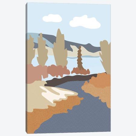 River Wild Canvas Print #RMU211} by Roberta Murray Canvas Artwork