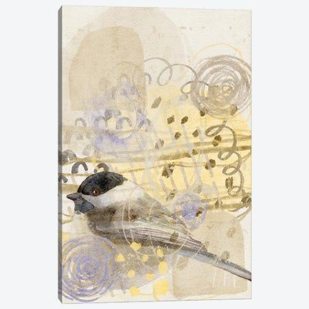 Chickadee Song Canvas Print #RMU216} by Roberta Murray Art Print