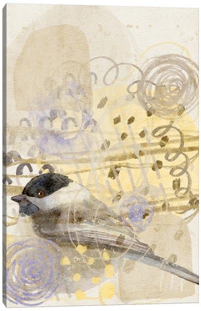 Chickadee Song Canvas Art Print