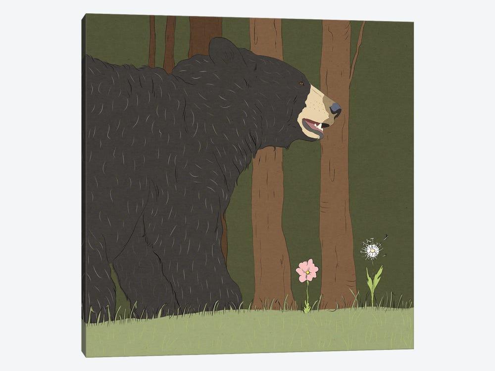 Stressed Bear by Roberta Murray 1-piece Art Print