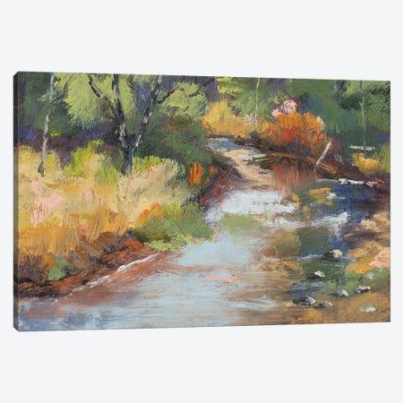 Bragg Creek Canvas Print #RMU230} by Roberta Murray Canvas Wall Art