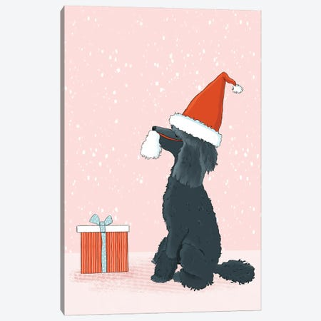 Be A Good Santa Canvas Print #RMU23} by Roberta Murray Art Print