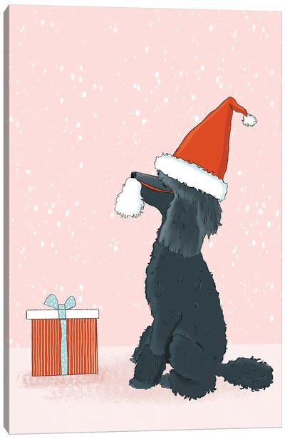 Be A Good Santa Canvas Art Print