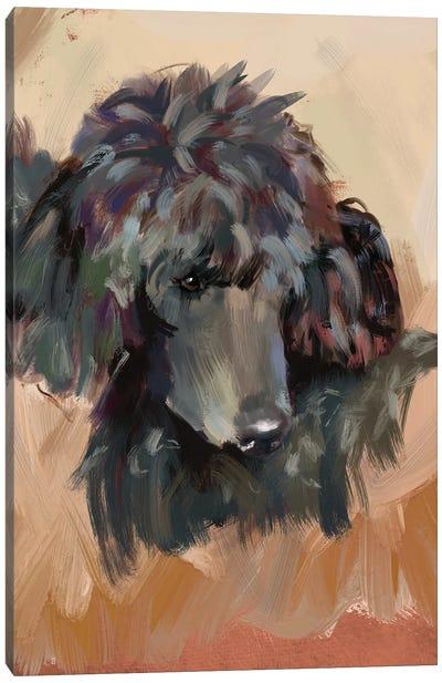 Beatrix Poodle Canvas Art Print