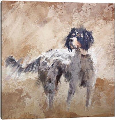 The Bird Dog Canvas Art Print