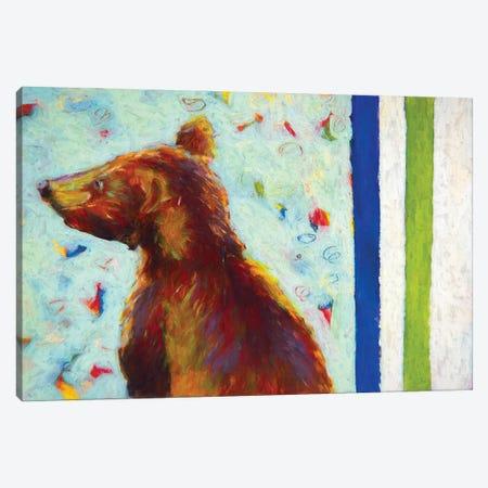 Canadian Bear IV Canvas Print #RMU26} by Roberta Murray Canvas Wall Art