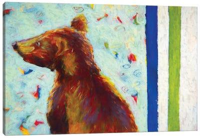 Canadian Bear IV Canvas Art Print