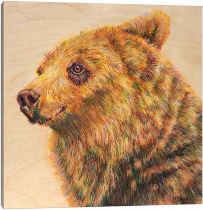 Berkley The Bodacious Canvas Art Print