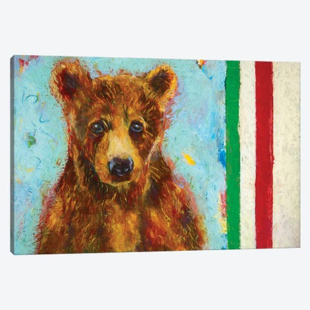 Canadian Bear I Canvas Print #RMU31} by Roberta Murray Canvas Wall Art