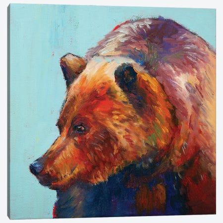Canadian Picker Canvas Print #RMU35} by Roberta Murray Art Print
