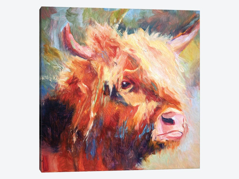 The Comb Over by Roberta Murray 1-piece Canvas Wall Art