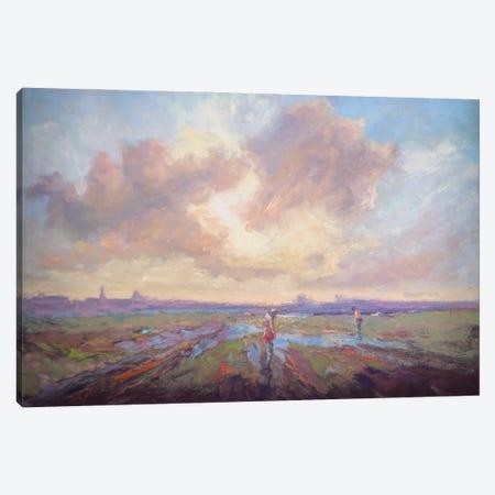 We Shall Yet Take Walks Canvas Print #RMU43} by Roberta Murray Canvas Art Print