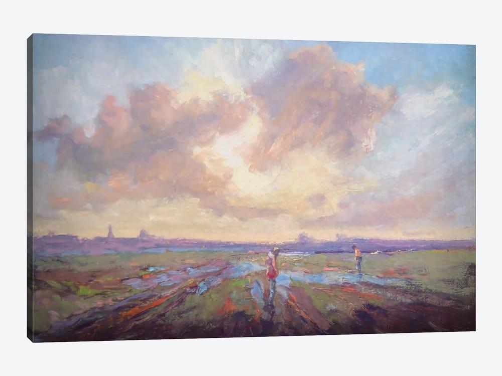We Shall Yet Take Walks by Roberta Murray 1-piece Canvas Art