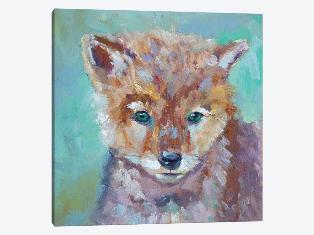 Cutest Coyote by Roberta Murray 1-piece Art Print