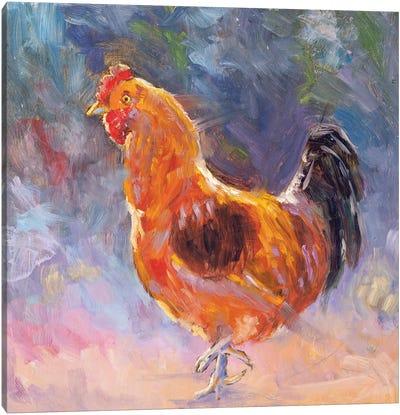 Coq Au Vin Canvas Art Print