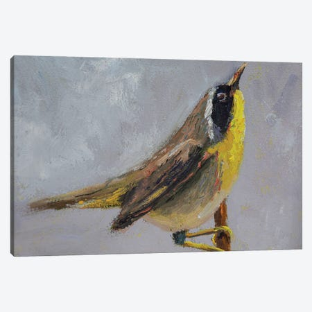 Wanna Chat Canvas Print #RMU60} by Roberta Murray Canvas Art Print