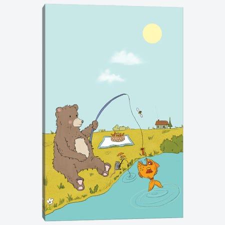 Gone Fishing Canvas Print #RMU7} by Roberta Murray Canvas Art Print