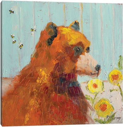 Buzz Off Canvas Art Print