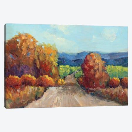 County Road Canvas Print #RMU82} by Roberta Murray Art Print