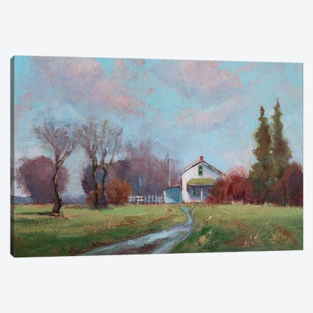 Home Of Gladness Canvas Print #RMU86} by Roberta Murray Canvas Art