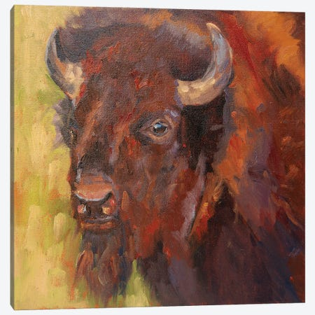 Charles In Charge Canvas Print #RMU90} by Roberta Murray Canvas Artwork