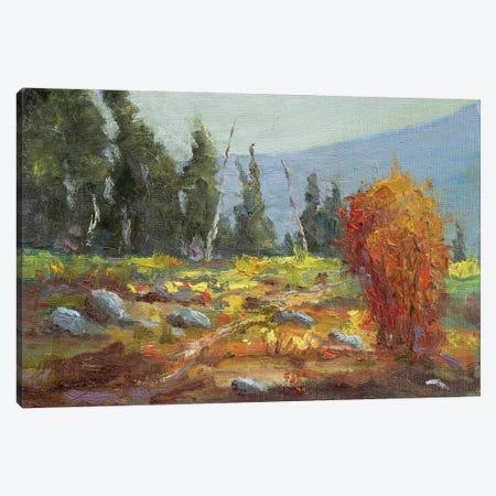 Nature Walk Canvas Print #RMU93} by Roberta Murray Canvas Artwork