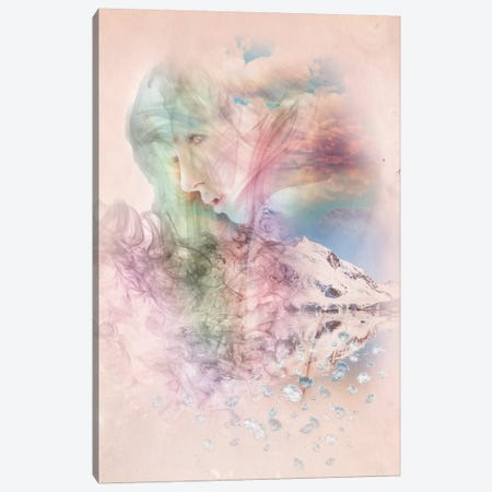Smoky Quartz Canvas Print #RMW10} by 5by5collective Canvas Art