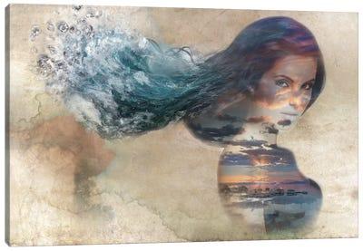 Diamond Flow Canvas Print #RMW3