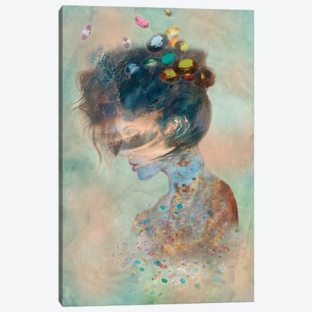 Opalescent Canvas Print #RMW7} by 5by5collective Canvas Print