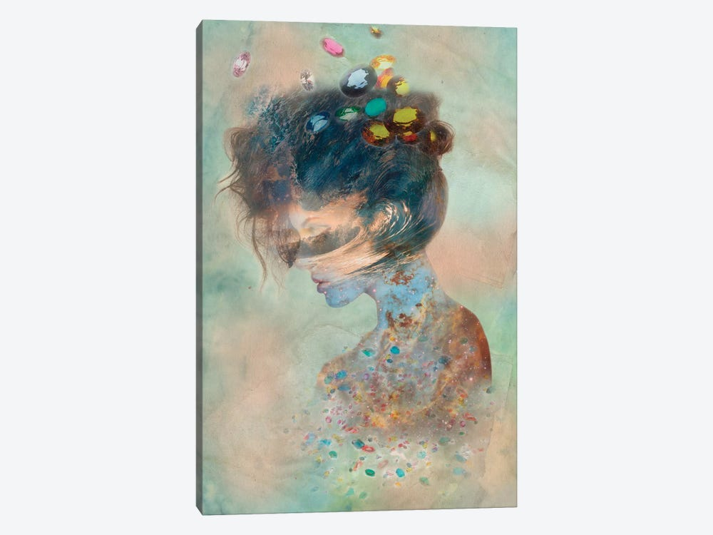 Opalescent by 5by5collective 1-piece Canvas Art