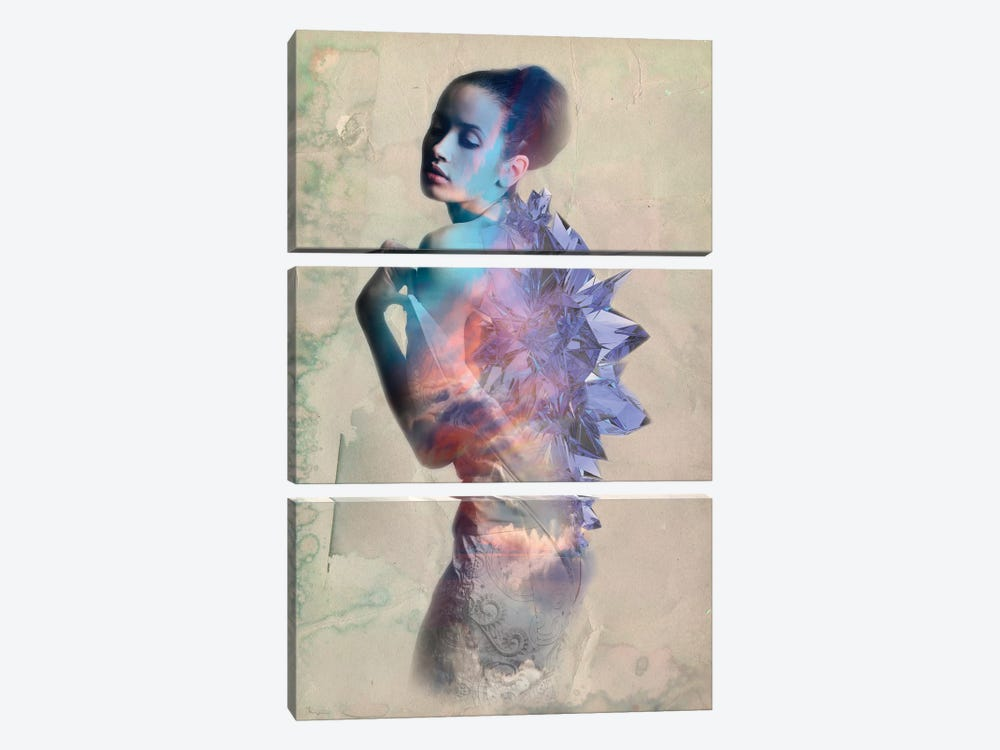 Sapphire by 5by5collective 3-piece Canvas Wall Art