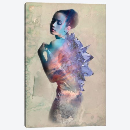 Sapphire Canvas Print #RMW9} by 5by5collective Canvas Artwork