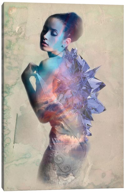 Sapphire Canvas Print #RMW9
