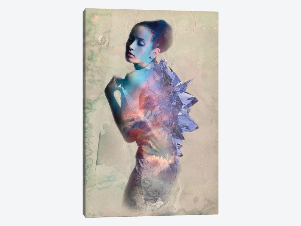 Sapphire by 5by5collective 1-piece Canvas Art