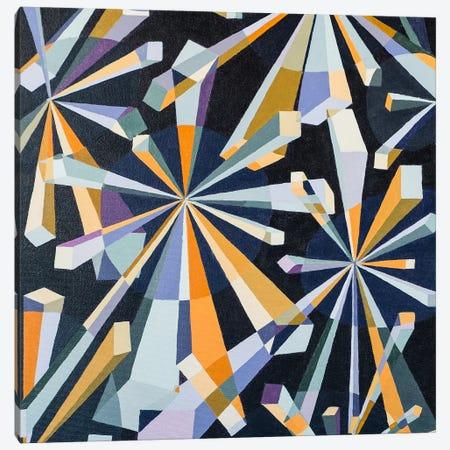 Purple Study  Canvas Print #RMY10} by Rebecca Moy Canvas Artwork
