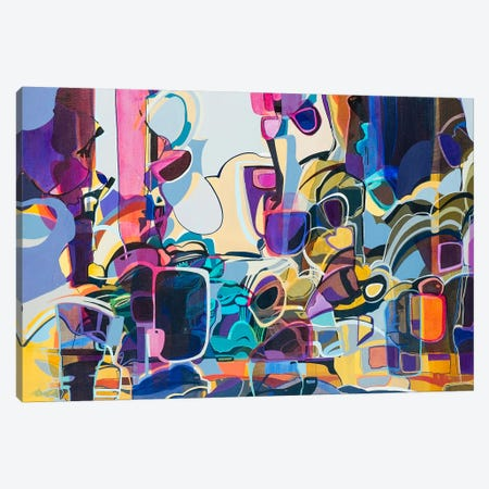 Violet  Canvas Print #RMY15} by Rebecca Moy Canvas Print