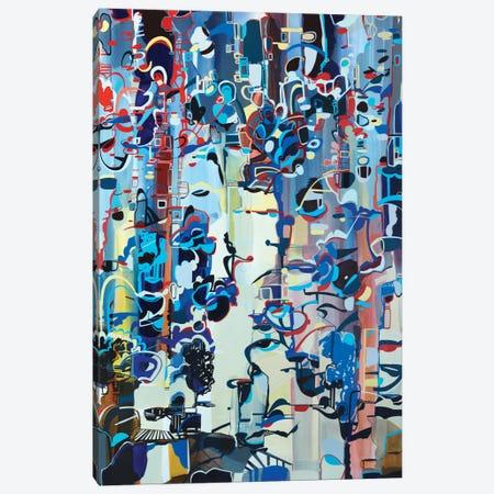Dawn Canvas Print #RMY21} by Rebecca Moy Canvas Print