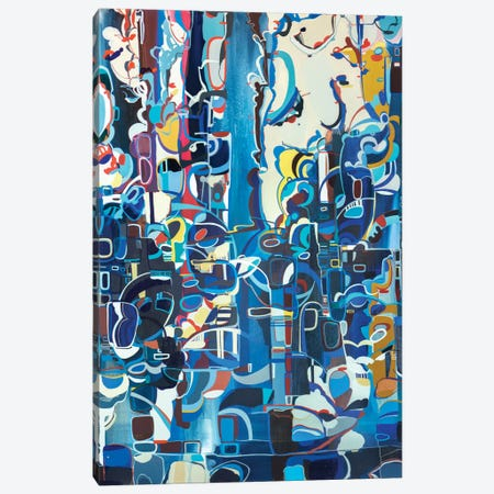 Dusk Canvas Print #RMY23} by Rebecca Moy Canvas Art Print