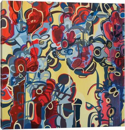 Red & Yellow Canvas Art Print