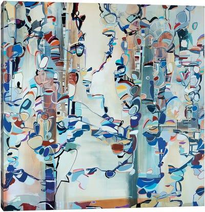 Ribbons II Canvas Art Print