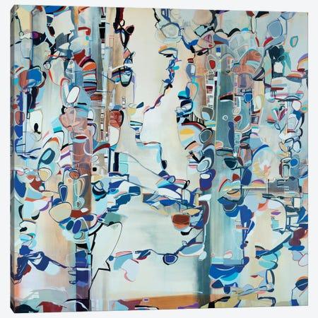 Ribbons II Canvas Print #RMY27} by Rebecca Moy Canvas Artwork