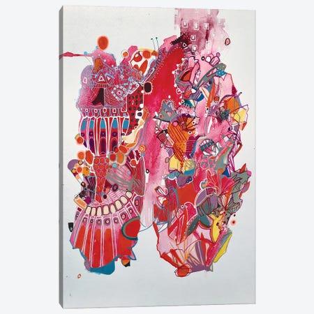 Cardio Canvas Print #RMY44} by Rebecca Moy Canvas Artwork