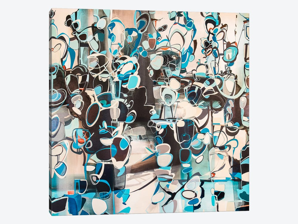 Hedge by Rebecca Moy 1-piece Canvas Artwork